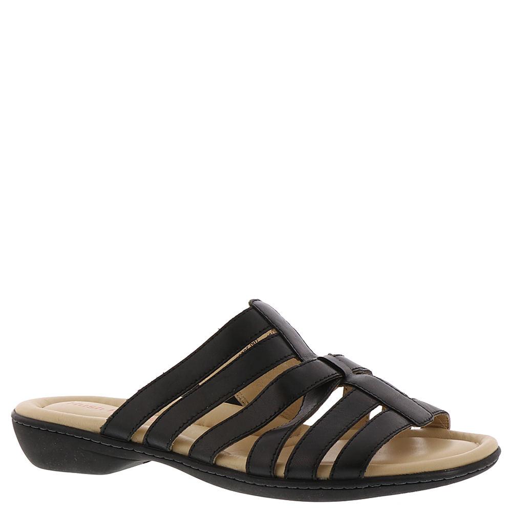 Hush Puppies Dachshund Slide Women's Black Sandal 9 N