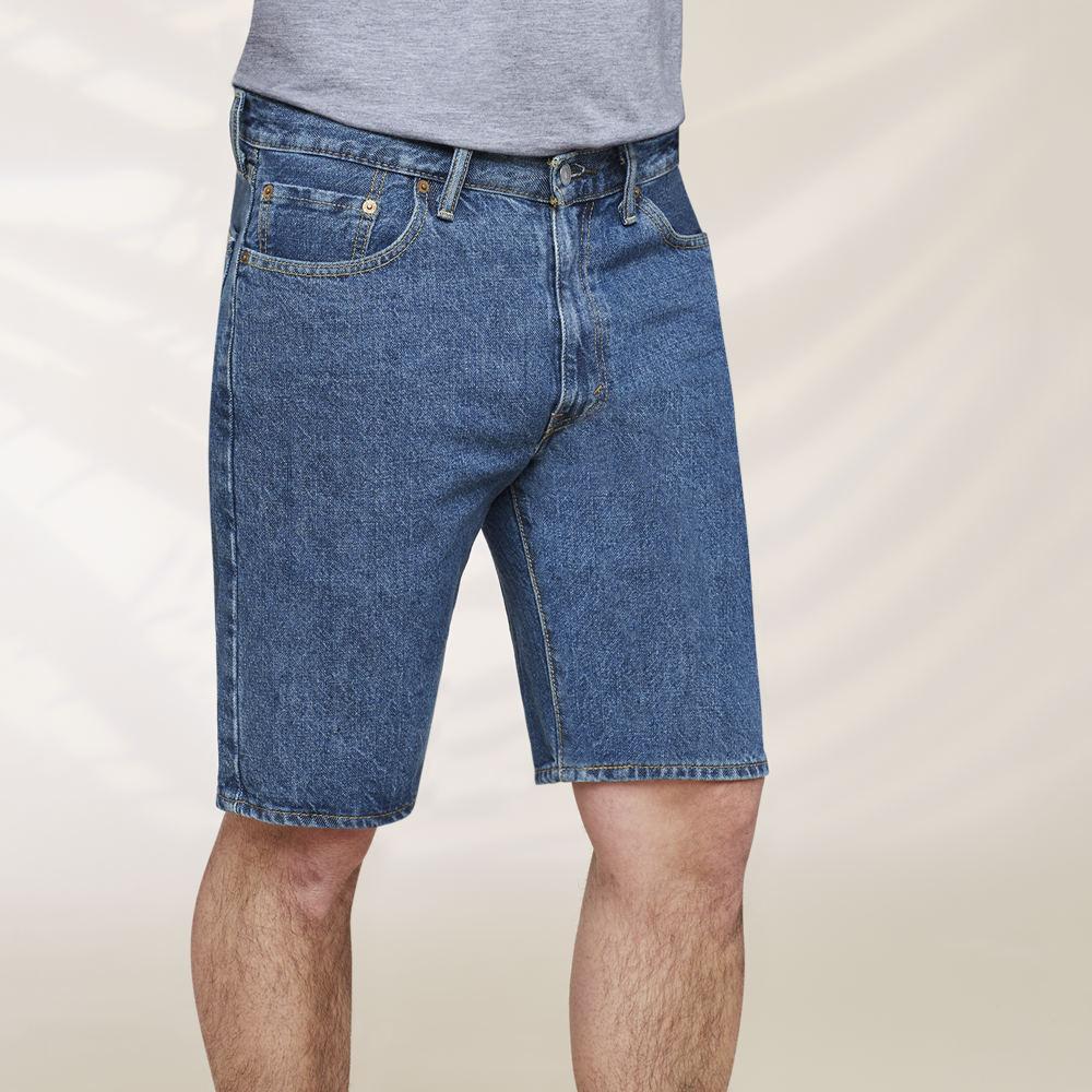 Levi's Men's 505 Regular Fit Shorts Blue Shorts 32