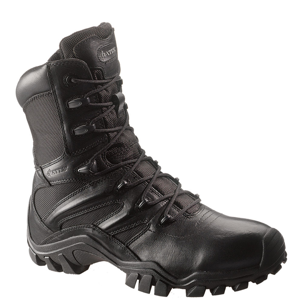 Bates Delta-8 Side Zip Men's Black Boot 11.5 M