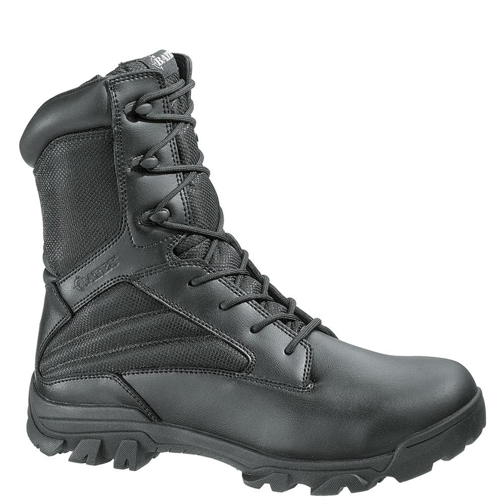 Bates ZR-8 Side Zip Men's Black Boot 13 EW
