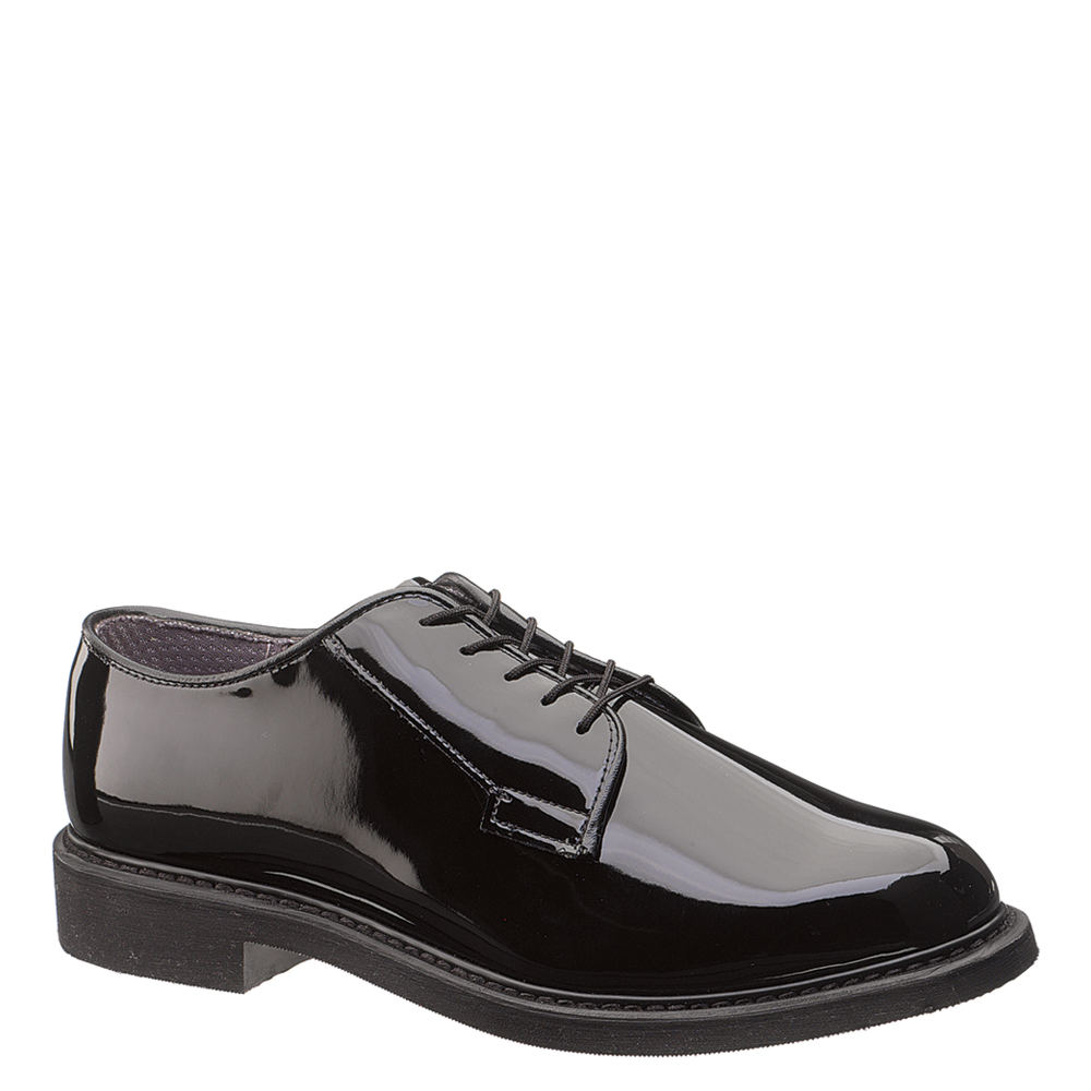 Bates LITES High Gloss Oxford Men's Black Oxford 9.5 E