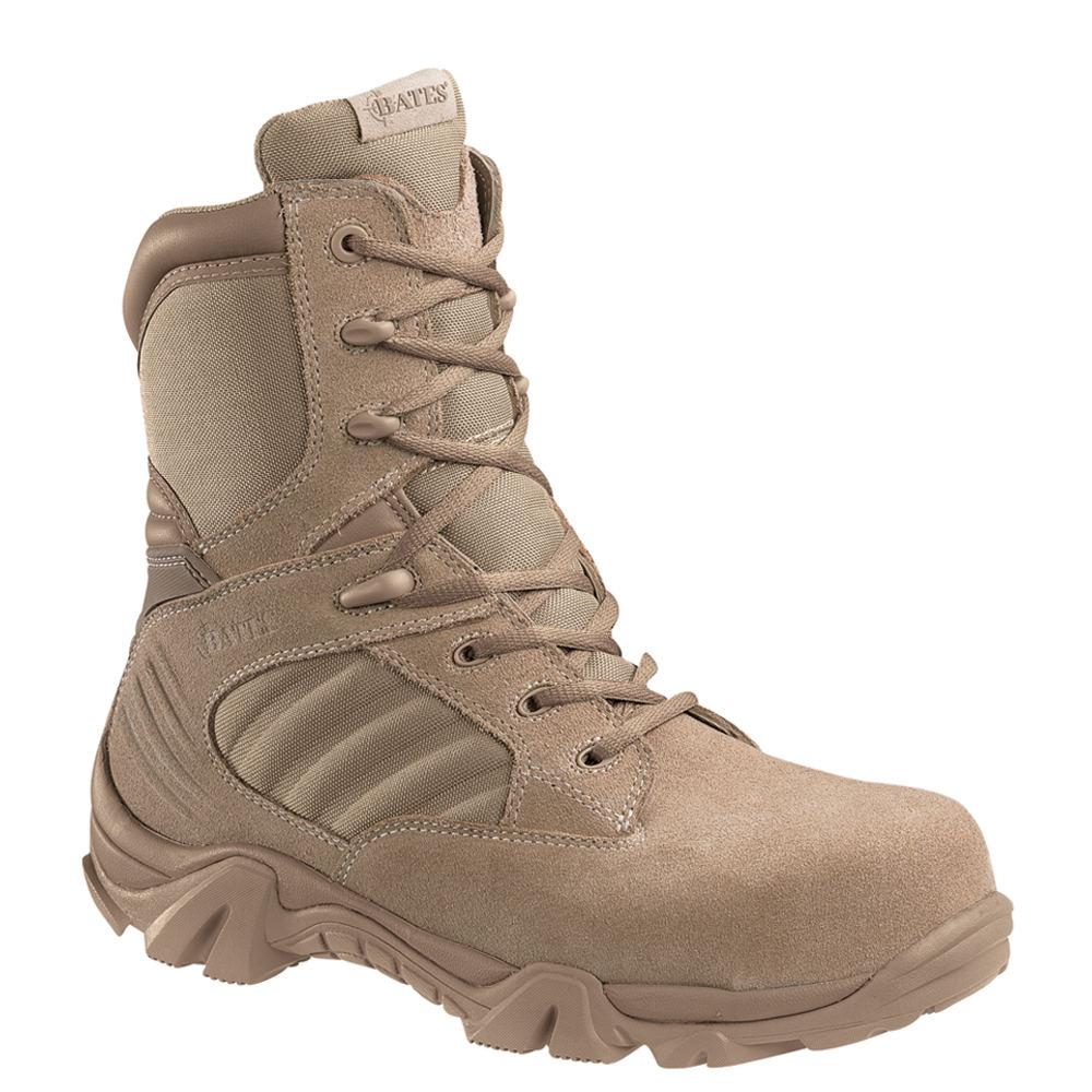 Bates GX-8 Comp Toe Men's Brown Boot 10 EW