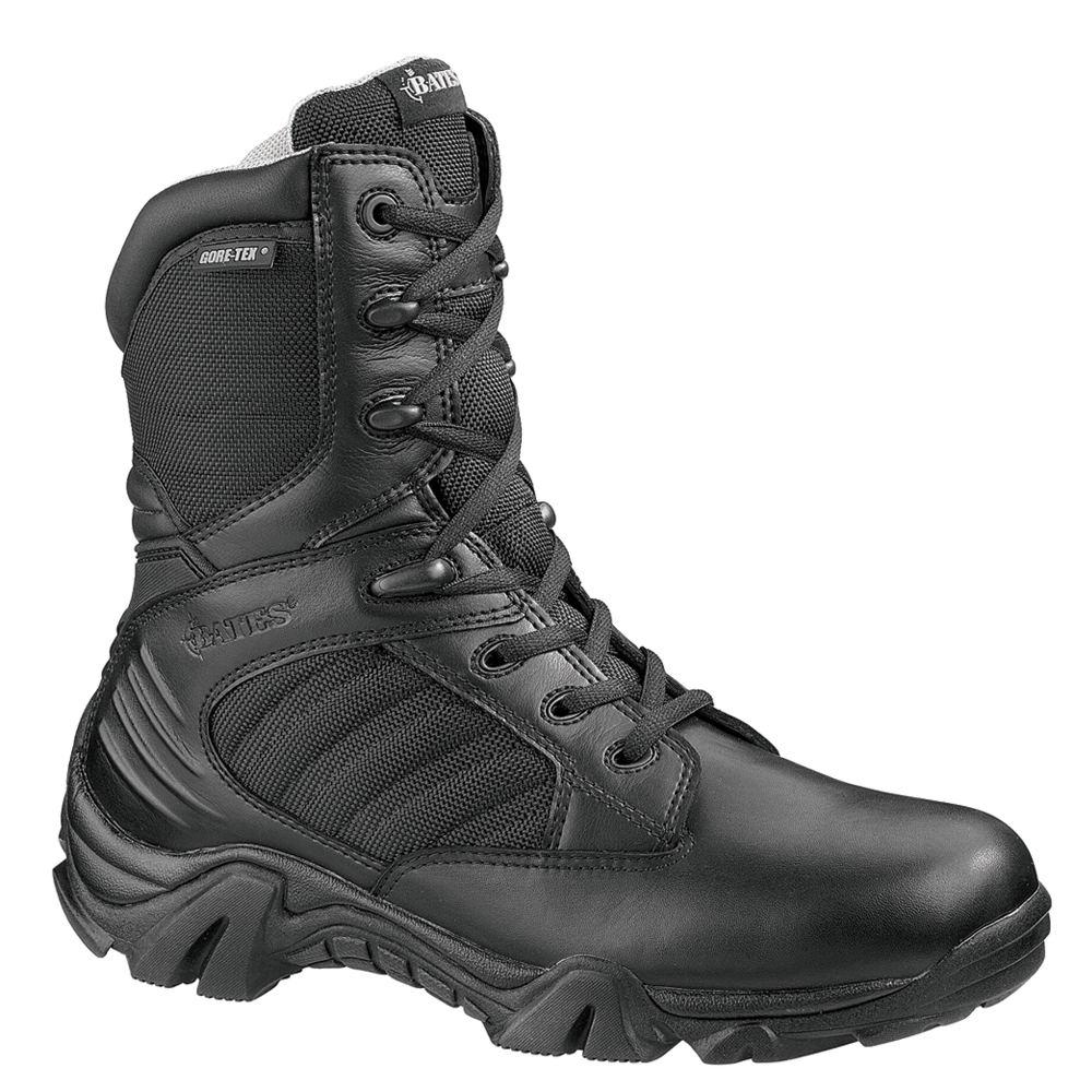 Bates GX-8 GORE-TEX Side Zip Men's Black Boot 10.5 M