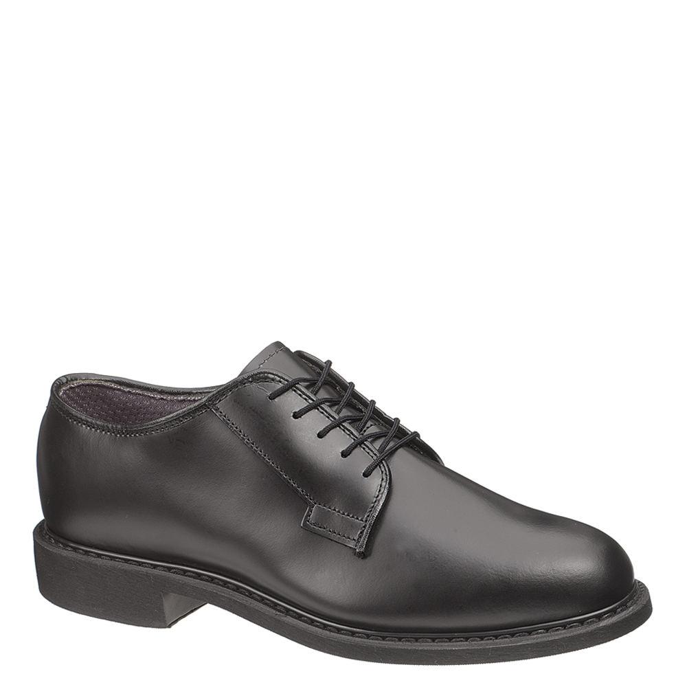 Bates Leather Uniform Oxford Men's Black Oxford 14 E3