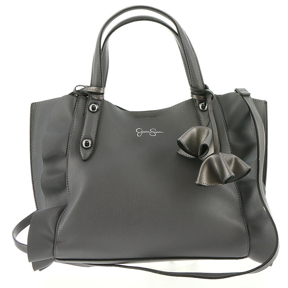 Jessica Simpson Kalie Sm Crossbody Tote Bag Grey Bags No ...
