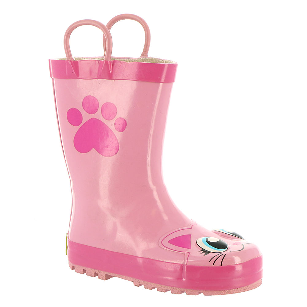 Western Chief Pink Kitty Rain Boot Girls' Infant-Toddler-...