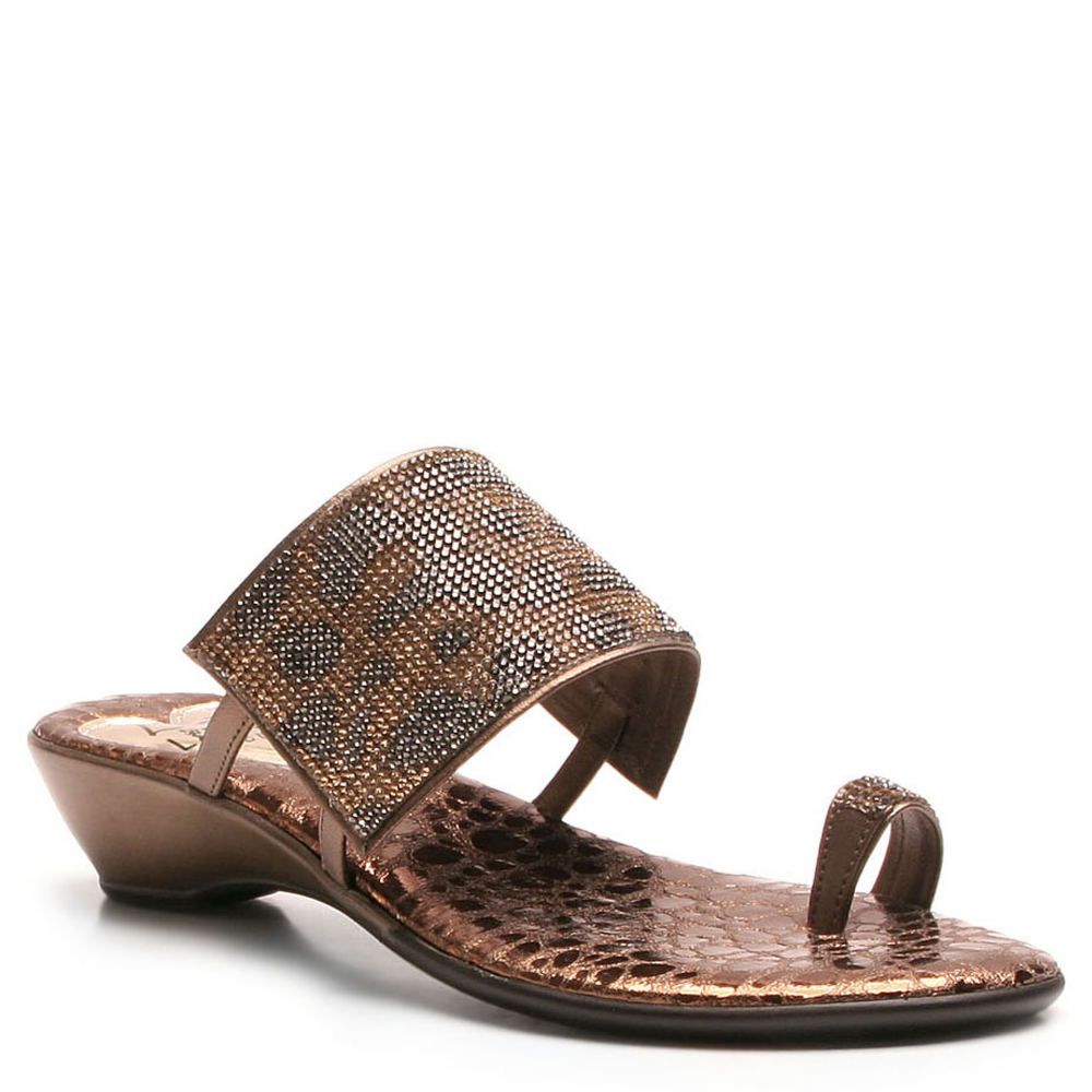 Love and Liberty Symone Women's Pewter Sandal 7 M