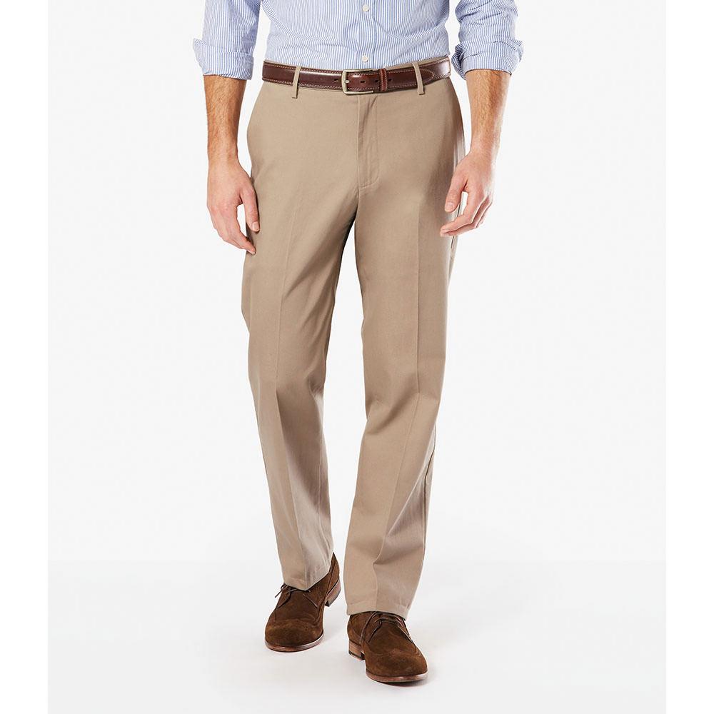 Dockers Men's Signature Khaki Classic Fit Pants Grey Pant...