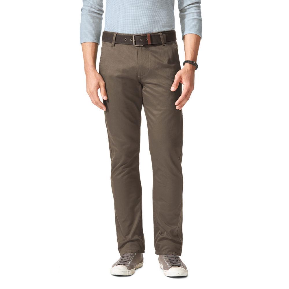 Dockers Men's Alpha Original Khaki Slim Tapered Pants Bro...