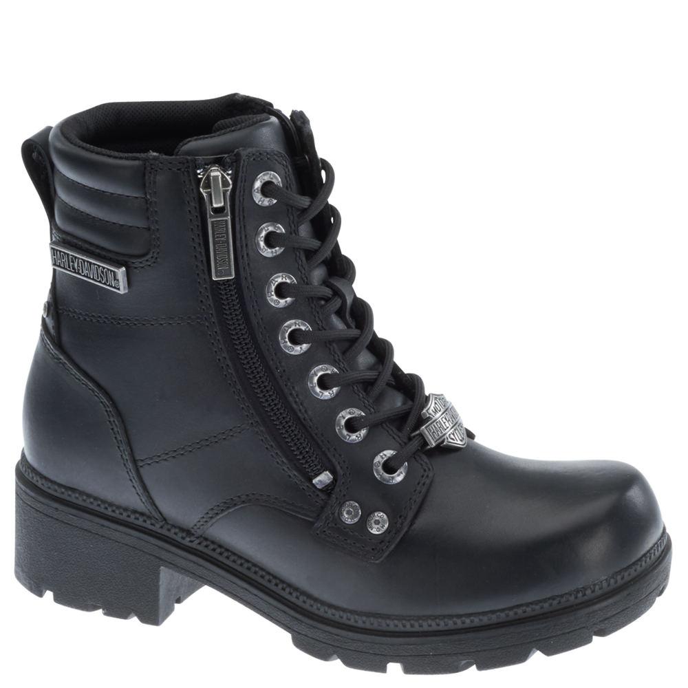 Harley Davidson Inman Mills Women's Black Boot 8 M