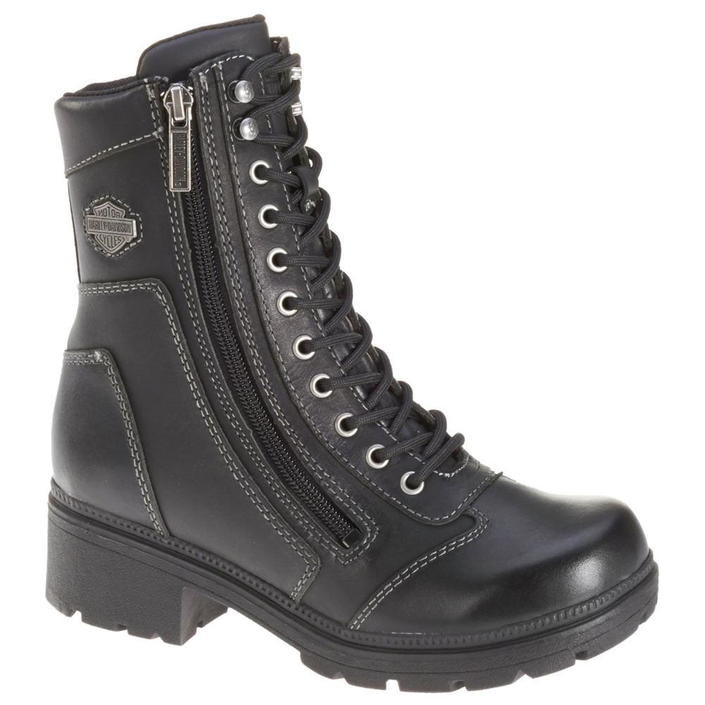 Harley Davidson Tessa Women's Black Boot 6.5 M