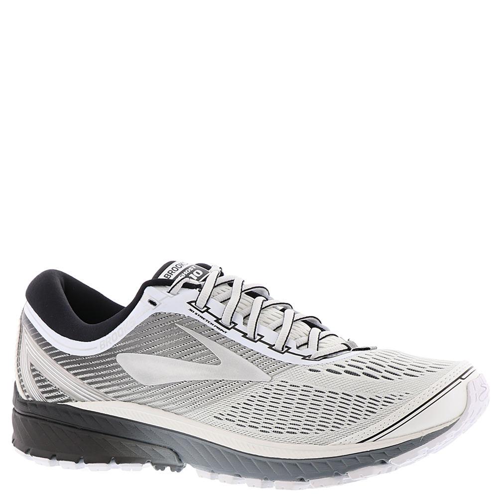 Brooks Ghost 10 Men's White Running 10.5 D 654001WHT105D