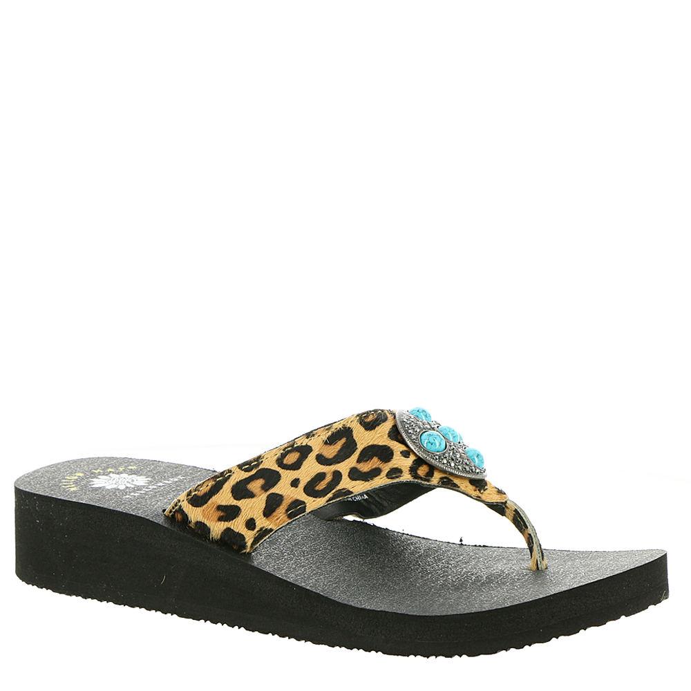 Yellow Box Hailena Women's Tan Sandal 7.5 M