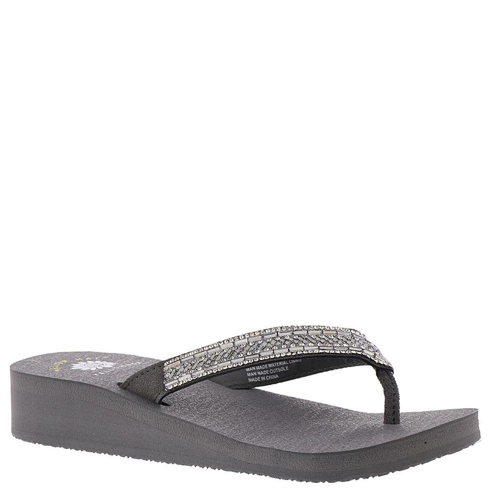 Yellow Box Toscani Women's Grey Sandal 6.5 M 557354GRY065M