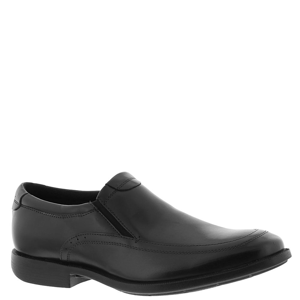 Nunn Bush Dylan Moc Toe Slip On Men's Black Oxford 11 W