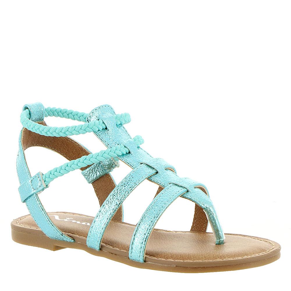 Nina Kids Margaree Girls' Toddler-Youth Blue Sandal 12 Toddler M 827008AQU120M