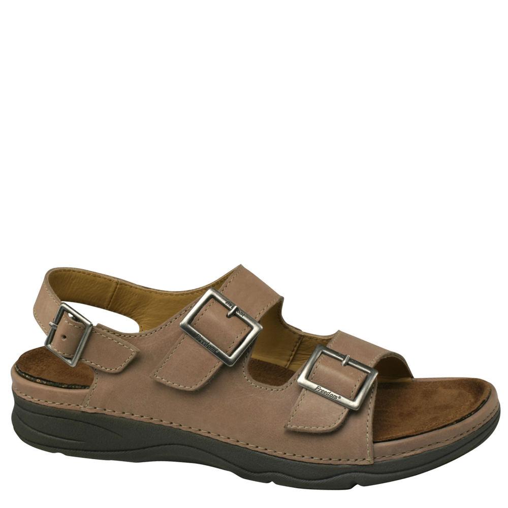 Drew Sahara Women's Tan Sandal 6 N