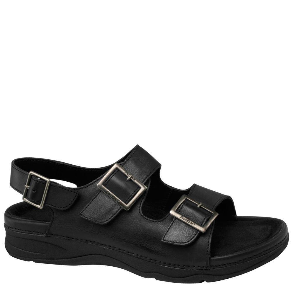 Drew Sahara Women's Black Sandal 5 W2
