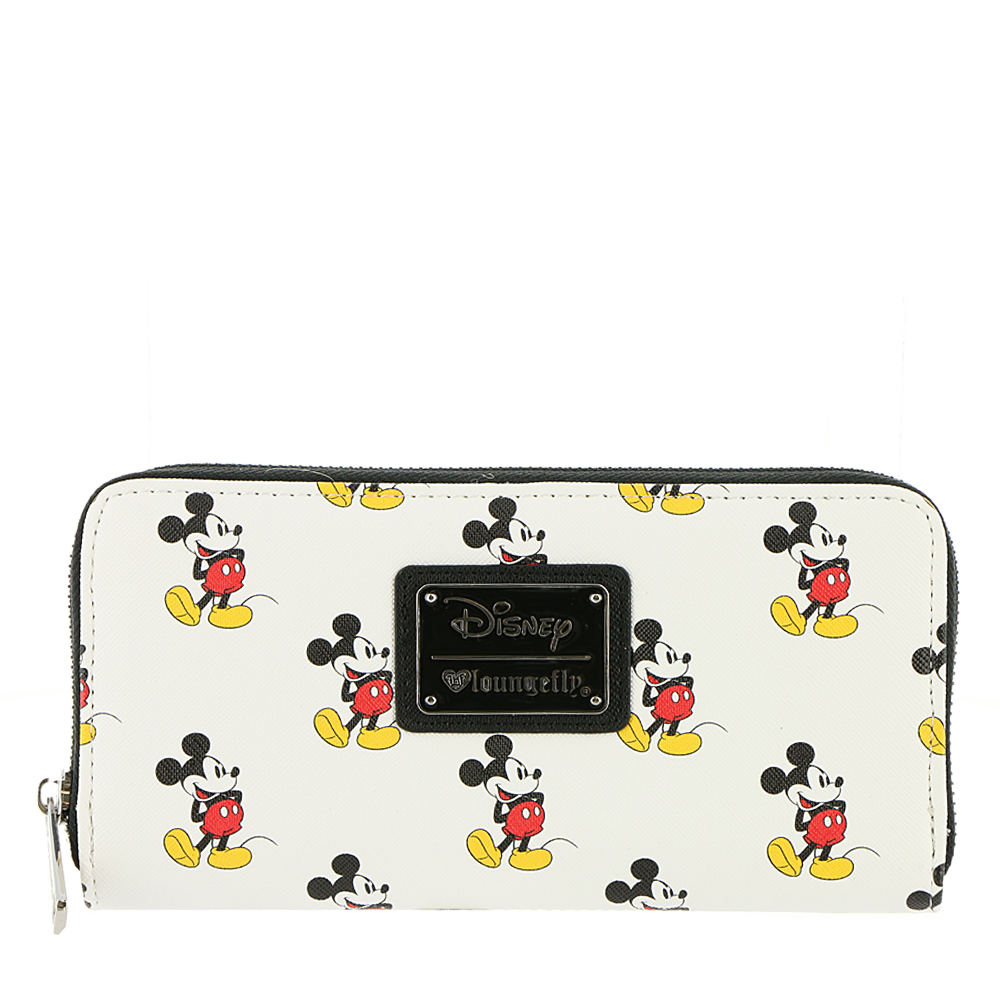 Loungefly Mickey All Over Wallet White Misc Accessories N...
