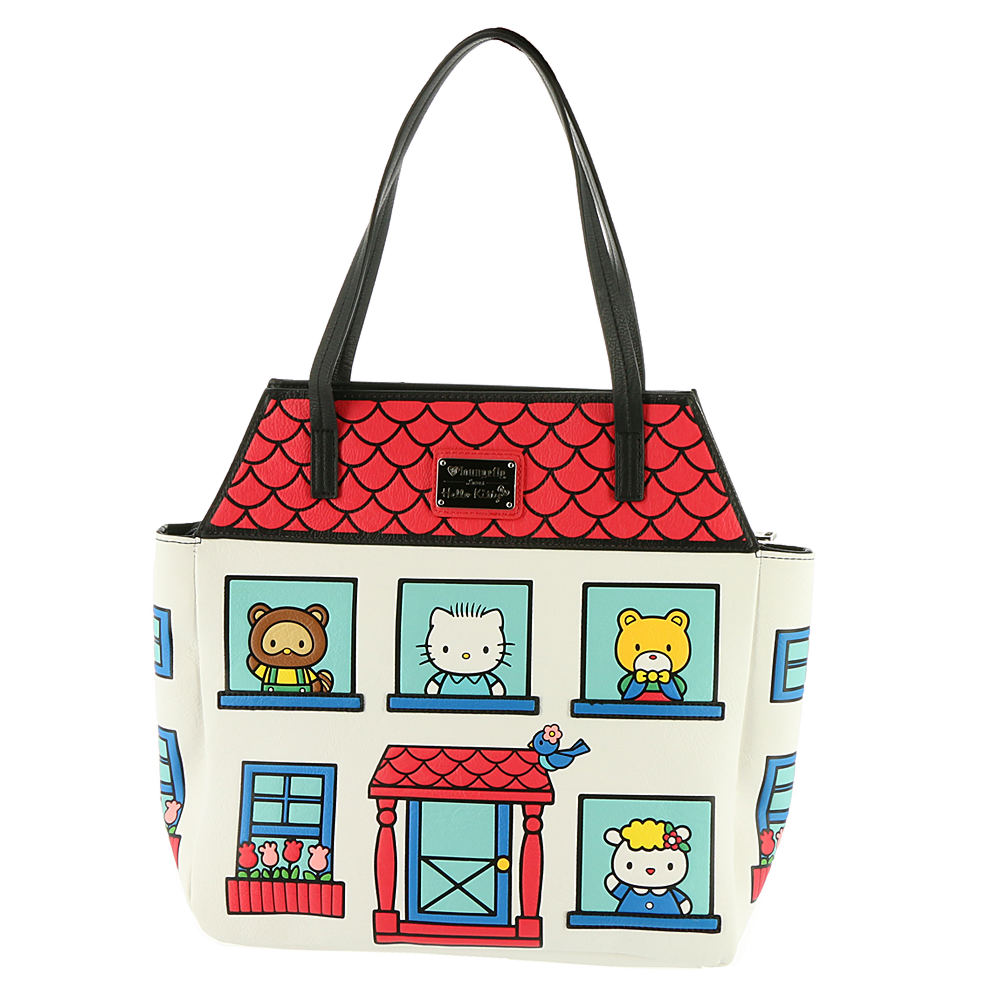 Loungefly Hello Kitty House Tote Bag White Bags No Size