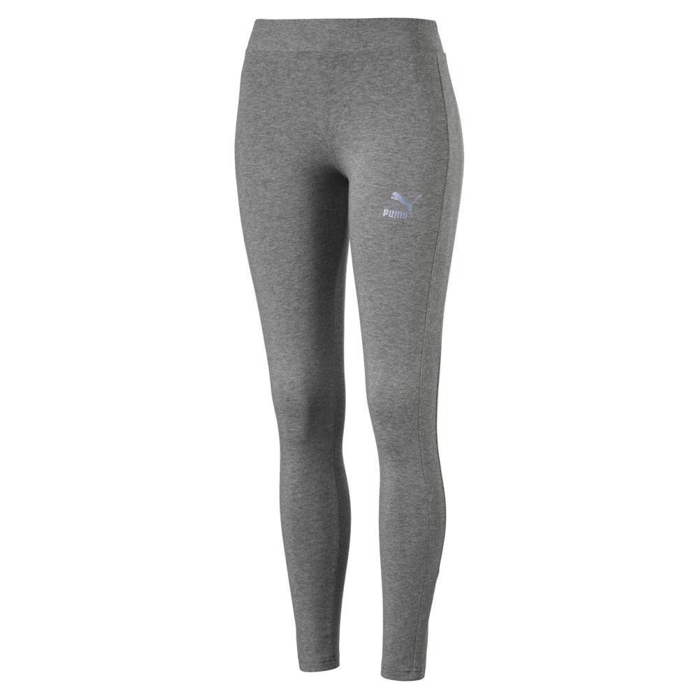 PUMA Women's Glam Legging Grey Pants S-Regular 714318HGRS