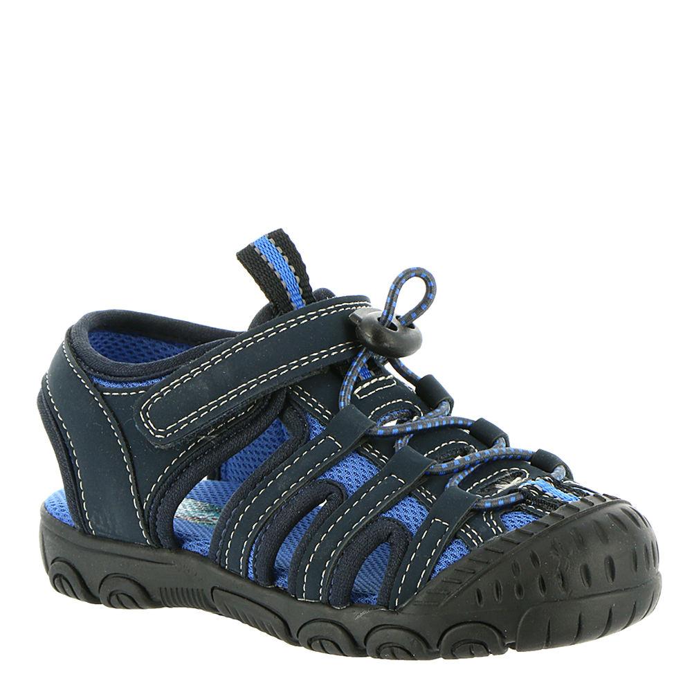 Scott David Lil Lucas Boys' Infant-Toddler Navy Sandal 9 ...