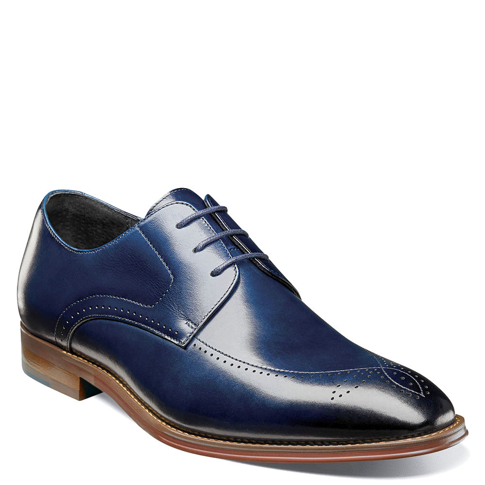 Stacy Adams Ballard Men's Blue Oxford 7 M 654435BLU070M