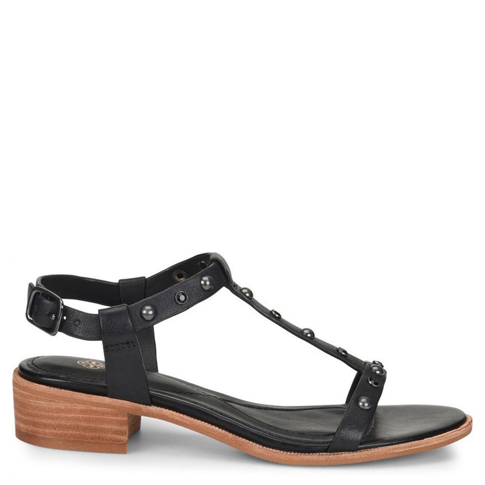 Isola Giana Women's Black Sandal 6.5 M 558830BLK065M