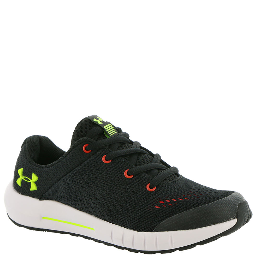 Under Armour BPS Pursuit Boys' Toddler-Youth Black Runnin...