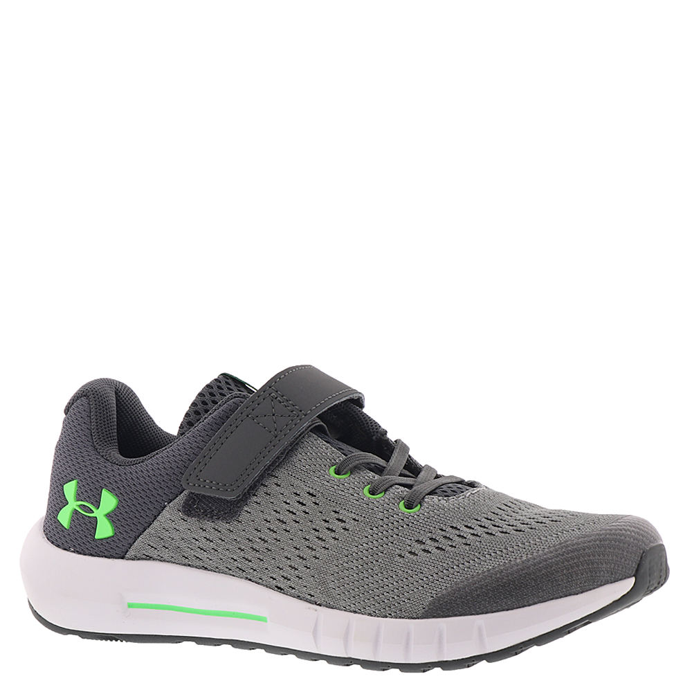 Under Armour BPS Pursuit AC Boys' Toddler-Youth Grey Runn...