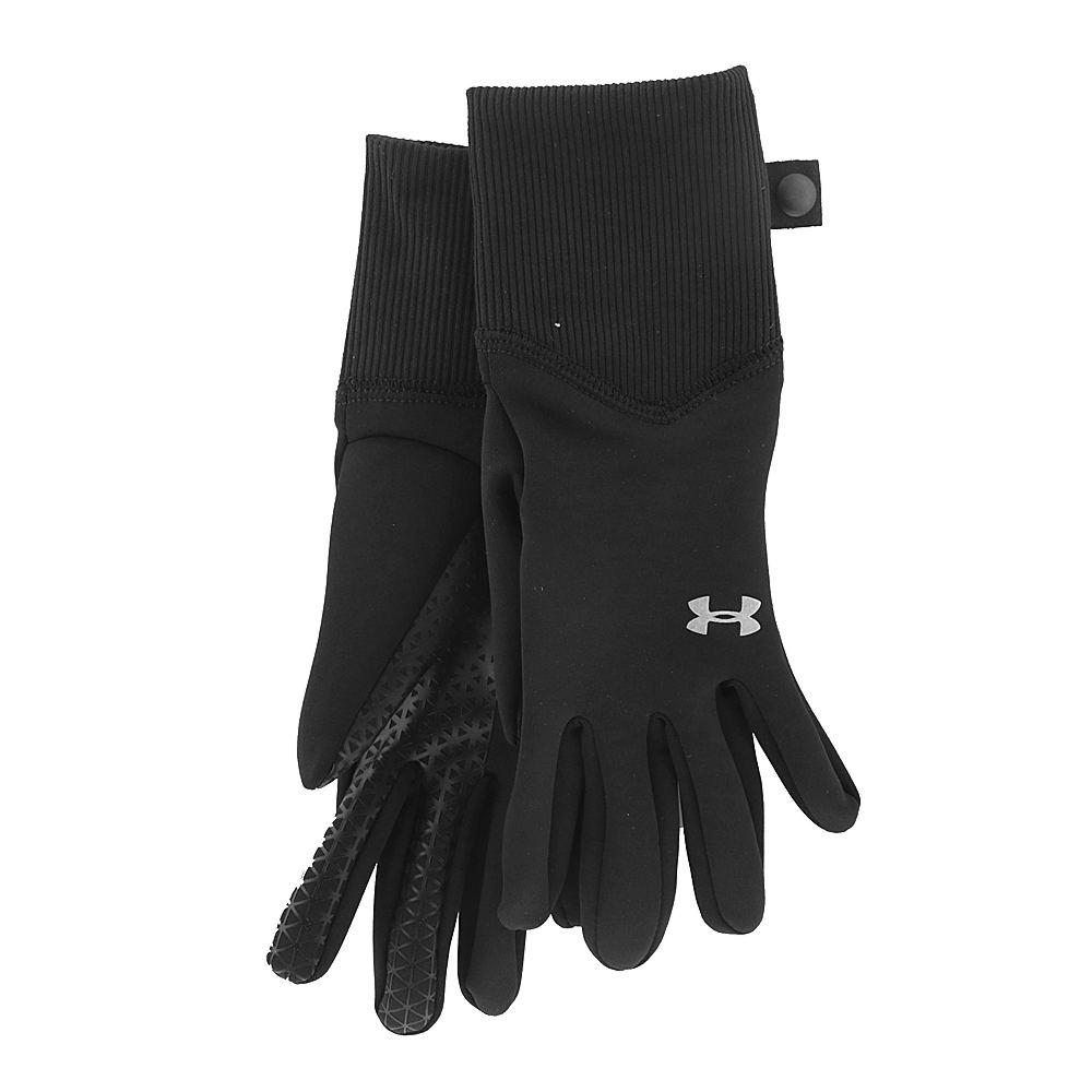 Under Armour Girls' Fleece Liner Gloves Black Misc Access...