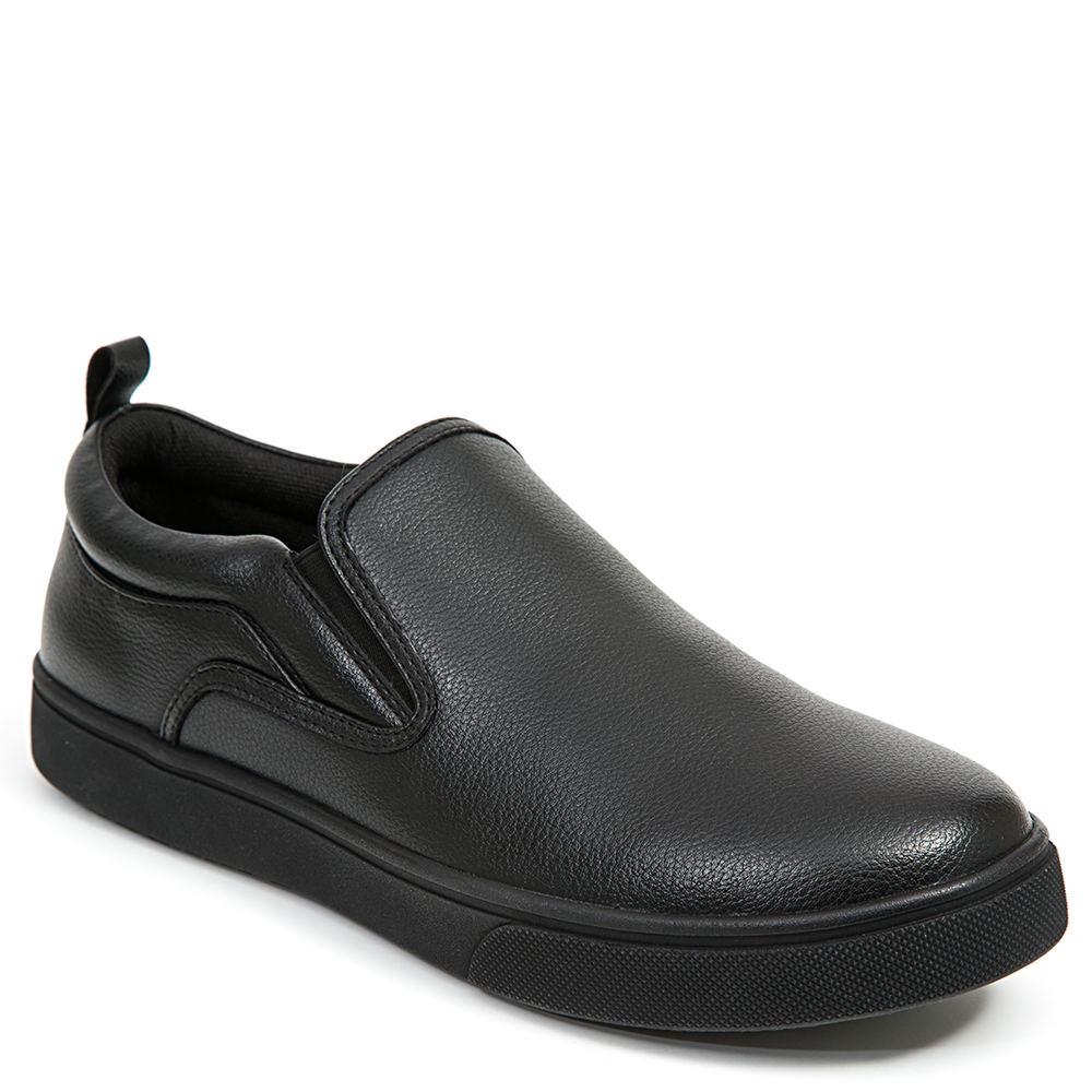 Deer Stags Depot Slip-On Men's Black Slip On 13 M