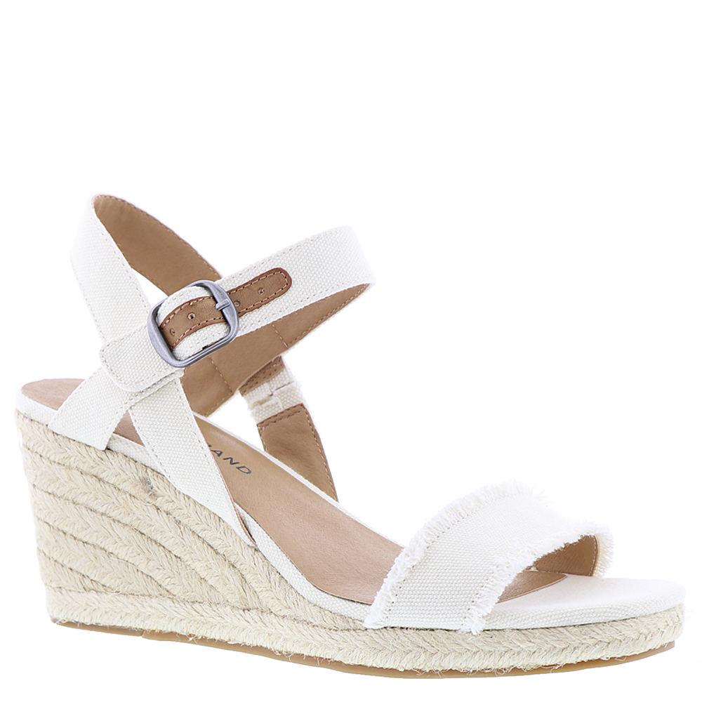 Lucky Brand Marceline Women's White Sandal 9.5 M