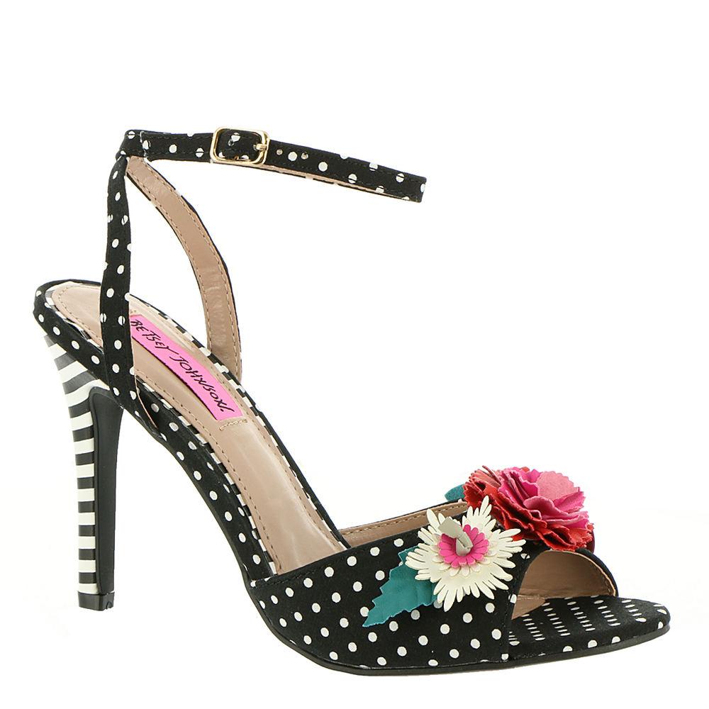 Betsey Johnson Jamie Women's Black Sandal 6 M 902203BLW060M