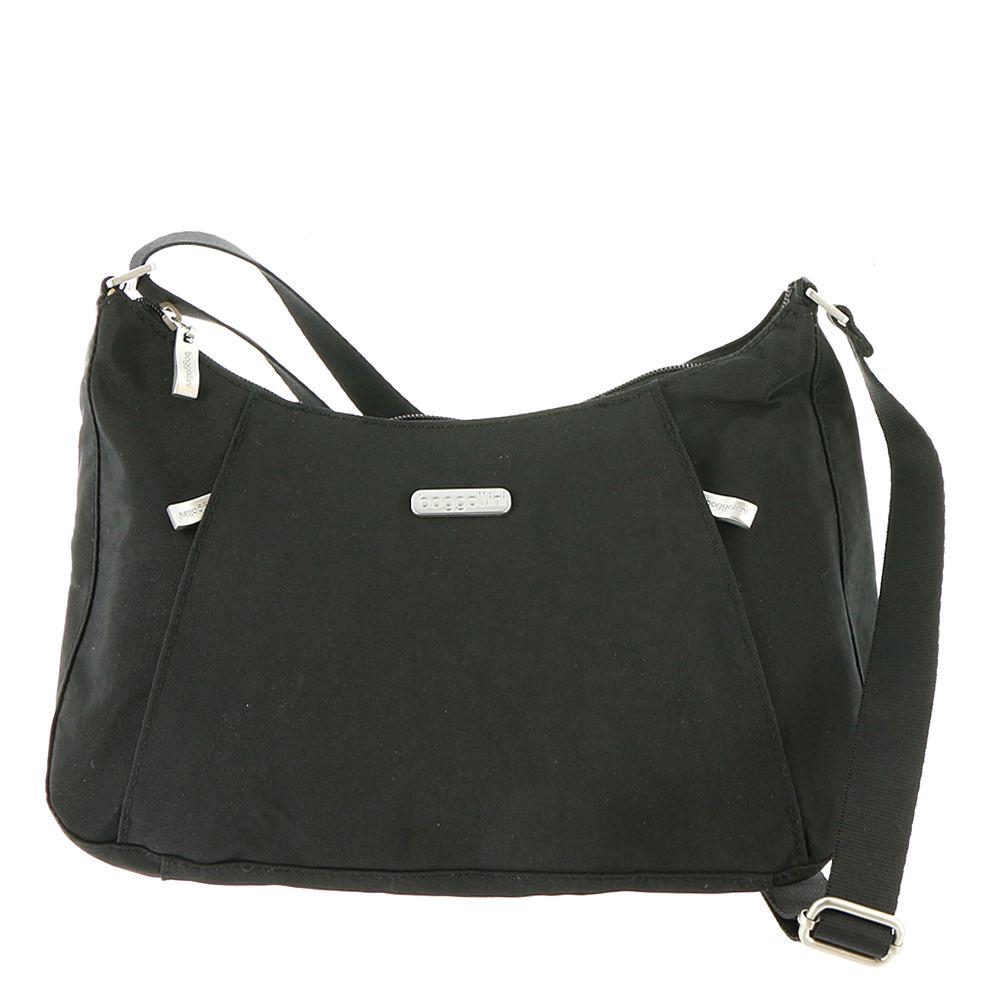 Baggallini Slim Crossbody Hobo Black Bags No Size