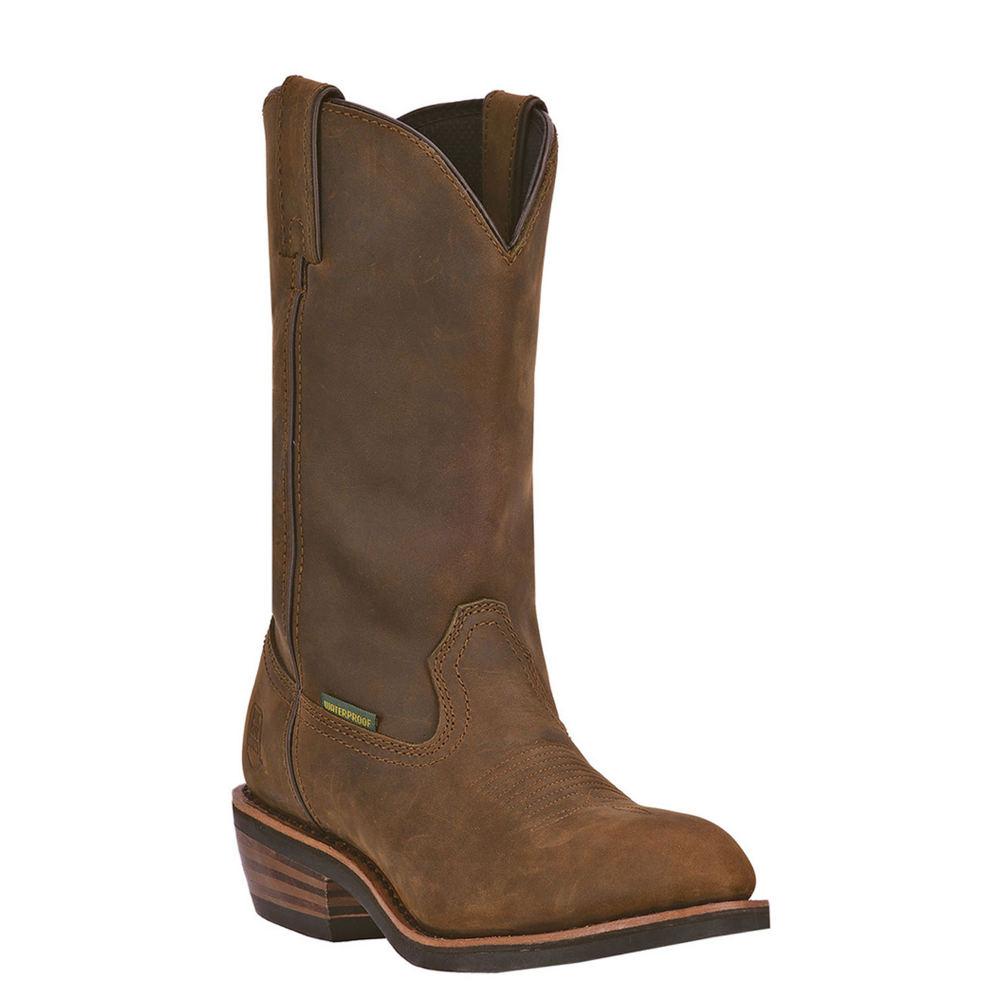 Dan Post Boots Albuquerque WP Men's Brown Boot 15 E2