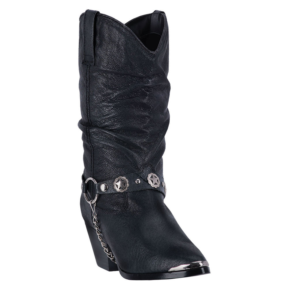 Dingo Olivia Women's Black Boot 8 W