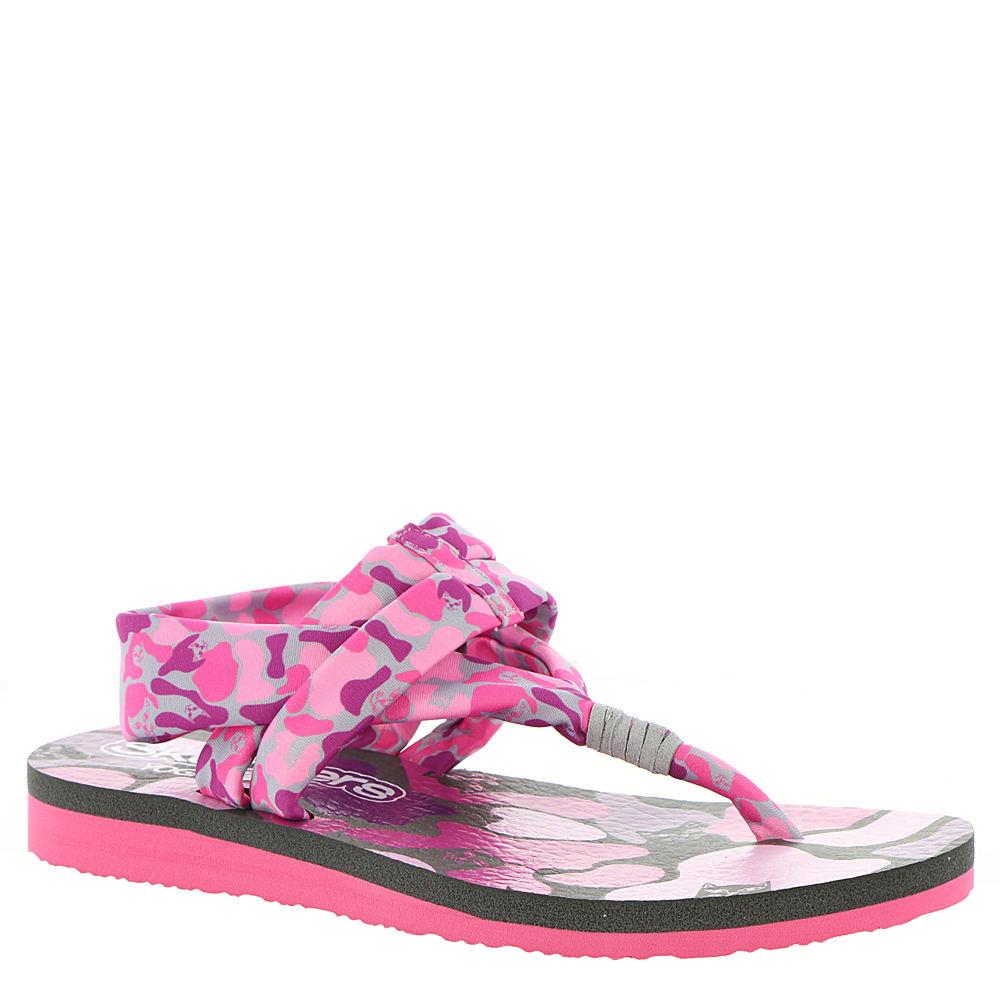 Skechers Meditation-Kitty Zen Girls' Toddler-Youth Grey Sandal 2 Youth M 828859GRY020M