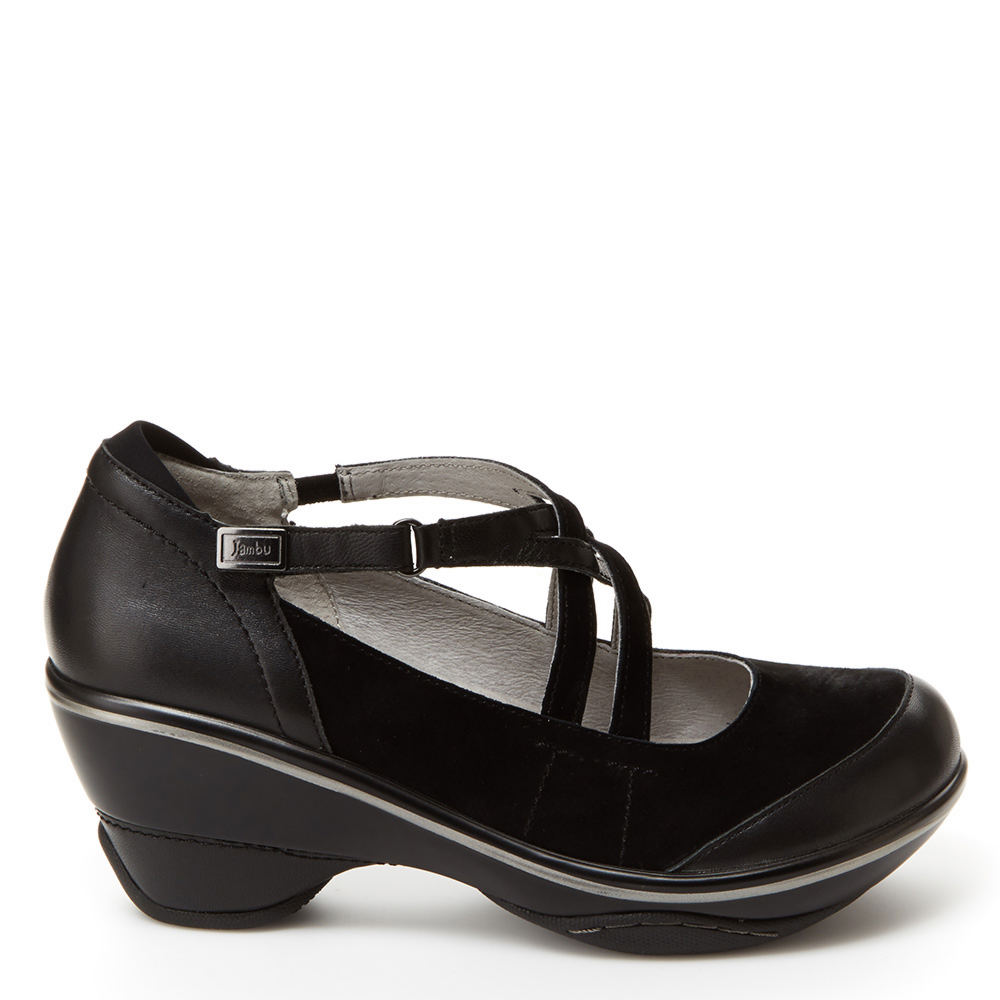 Jambu Toronto Women's Black Pump 7.5 M