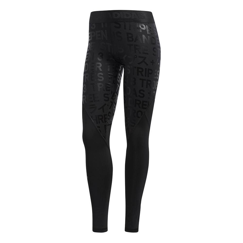 Adidas Women's ASK Sport Legging 3 Black Pants XXL-Regular
