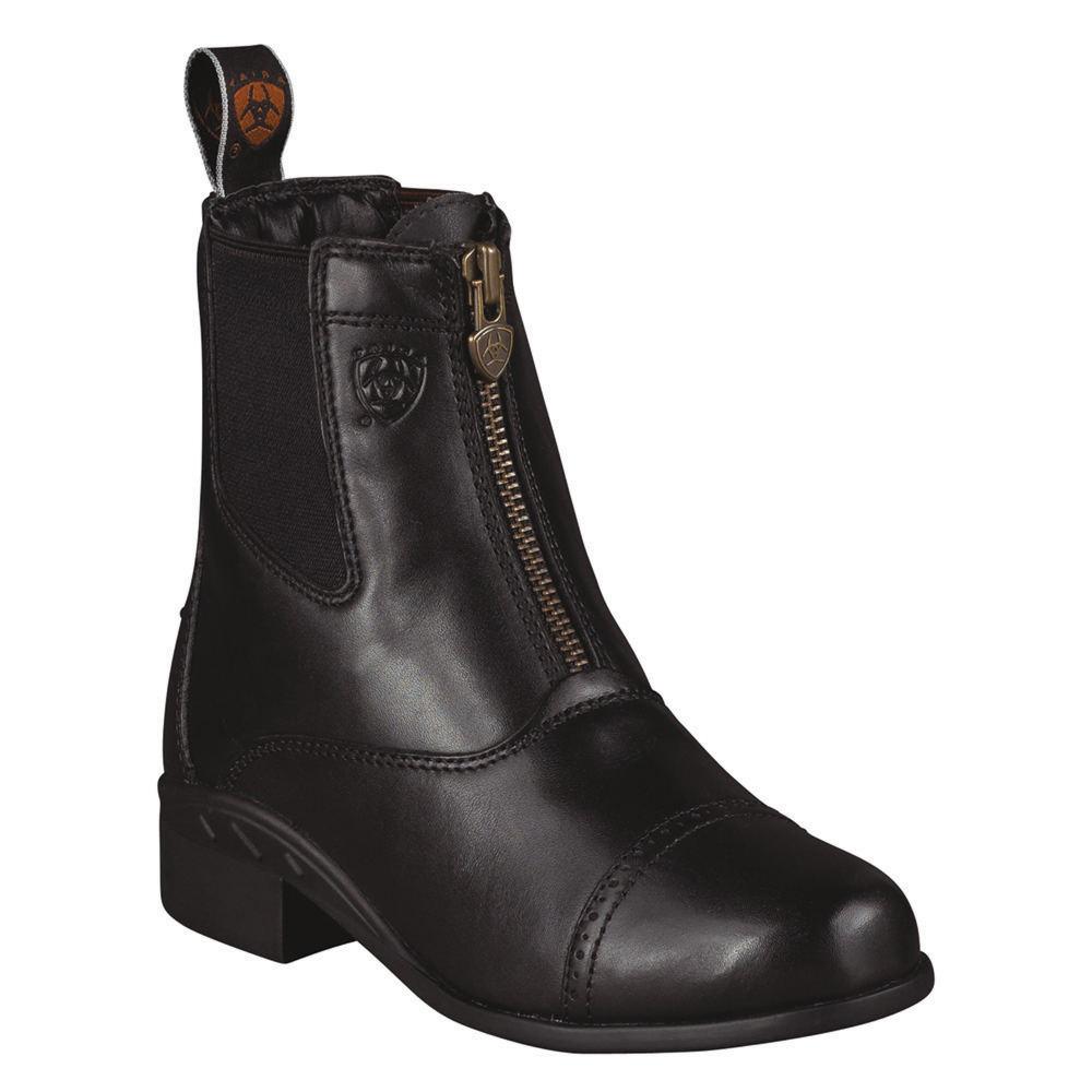 Ariat Devon III Paddock Girls' Toddler-Youth Black Boot 2...