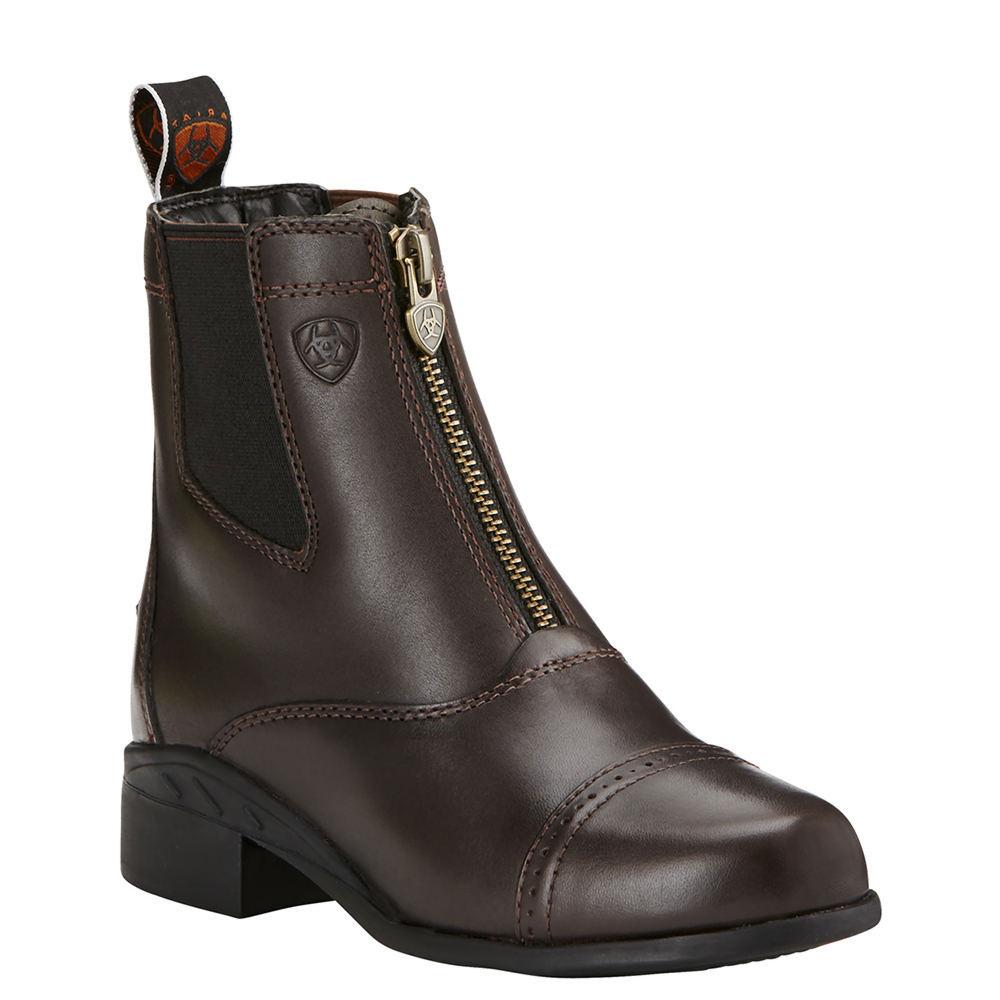 Ariat Devon III Paddock Girls' Toddler-Youth Brown Boot 2...