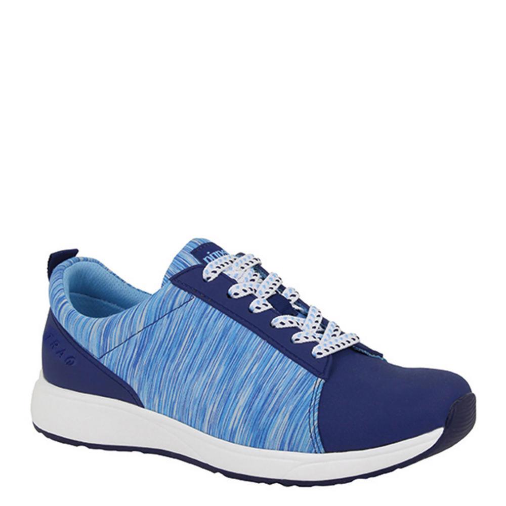 Traq by Alegria Qest Women's Blue Walking Euro 35      US...