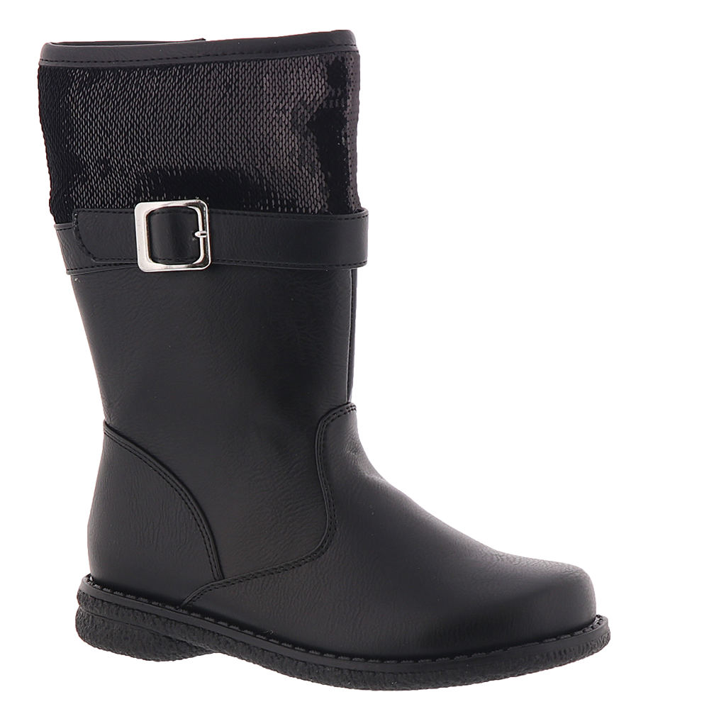 Rachel Shoes Kendra Girls' Infant-Toddler Black Boot 7 To...