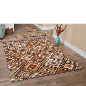 tamarai 3 piece rug set