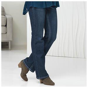 Gothic Cross Pocket Jeans
