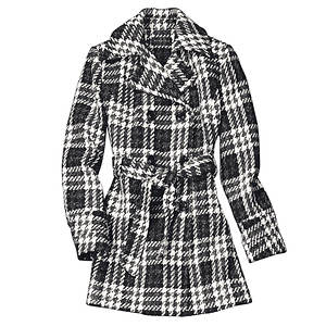Belted Peacoat