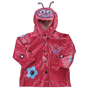 Western Chief Girls' Butterfly Raincoat