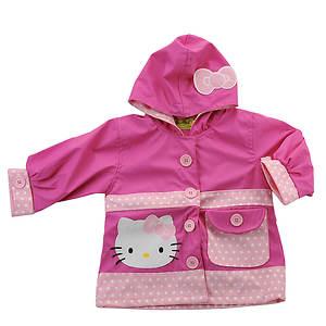 Western Chief Girls' Hello Kitty Cutie Ruffles Raincoat (Toddler)