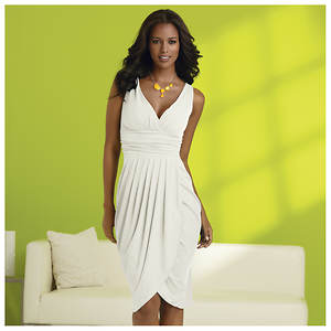 Draped Grecian Dress